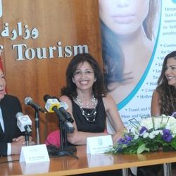 Press Conference with Nada Sardouk Director General Lebanese Ministry of Tourism